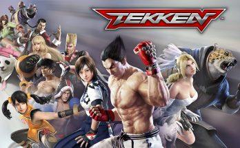 tela inicial de tekken mobile
